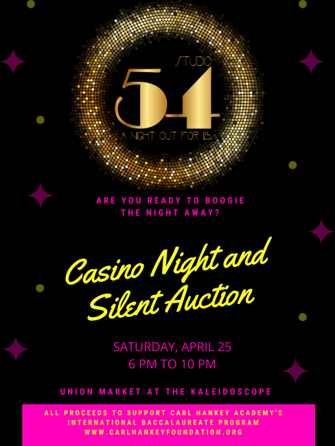 Casino night 2020, April 25, 2020